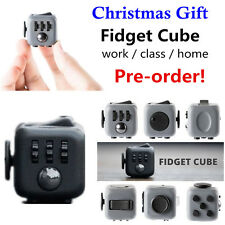 Fidget Cube Toy Stress Relief Focus For Adults, Children 6+, ADHD & AUTISM #S1