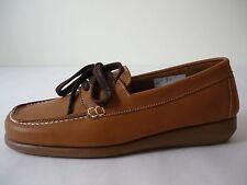 AEROSOLES Damen Schuhe 36,5 Braun Leder Halbschuhe NEU