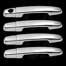 FOR TOYOTA YARIS 2007-2011 CHROME 4 DOOR HANDLE COVERS w/oPSK 07 08 2009 2010 11