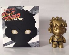 NYCC Exclusive GOLD RYU KIDROBOT STREET FIGHTER Chase Toy Figure SDCC RARE NIB