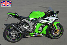 Kawasaki ZX10R 11-15 SP Engineering Carbon Stubby Moto GP Road Legal Exhaust