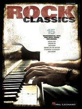 Rock Classics Sheet Music Easy Piano SongBook NEW 000102840