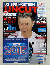 UNCUT Magazine DAVID BOWIE New Album BLACKSTAR + CD January 2016 ROGER WATERS