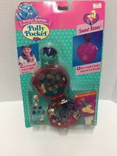 Mattel Polly Pocket Sparkle Surprise Sweet Roses Compact Toy New in Package