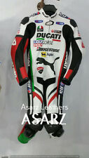 DUCATI RACING MOTORCYCLE LEATHER SUIT MOTORBIKE LEATHER ONE PIECE NEW ARRIVAL