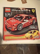 Lego racers ferrari F430 challenge 8143 complete with box, unused stickers, inst