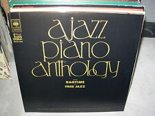 VARIOUS a jazz piano anthology from ragtime to free ( jazz ) - 2lp - france -