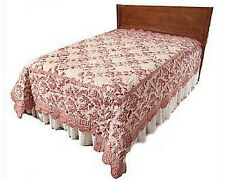 Country Living Nancy's Toile All Cotton Twin Size Quilt (QVC)