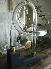 Mid Century Modern Dorothy Thorpe Lucite Table / Mantle Clock