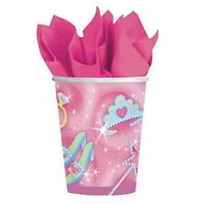 Princess 9 oz Cups Party Cup Girls Princess Party Baby shower (1 pkg 8ct)