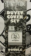 HARRY POTTER LETTER FROM HOGWARTS -Duvet Reversible Bed Set Primark DOUBLE