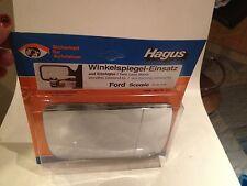 108/ Ford Scorpio MK 1 -89  re Spiegelglas Hagus Spiegel / Aussenspiegel/NEU NOS