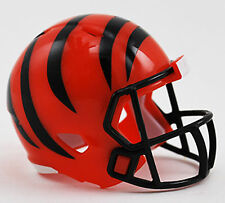 NEW NFL American Football Riddell SPEED Pocket Pro Helmet CINCINNATI BENGALS