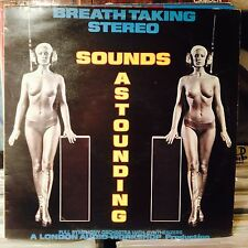 Sounds Astounding LP//NUDE/CHEESECAKE SLEEVE-SEXY FUTURISTIC !!!!!!