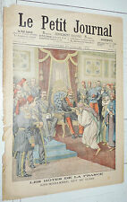 PETIT JOURNAL 1904 SIDI-MOHAMMED BEY TUNIS / ECHECS PIECES VIVANTES MILLIARDAIRE