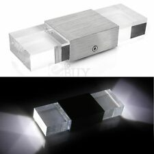 2W High Power 2 LED Wall Light Lamp for Hall Room Modern AC90-240V White