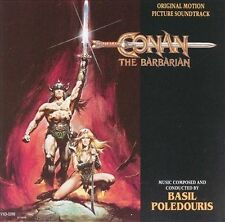 Conan the Barbarian Original Movie Soundtrack by Basil Poledouris CD 1990