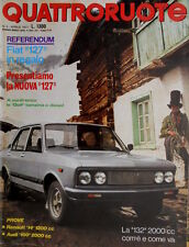 Quattroruote 256 1977 La 132 2000 cc com'è e come va. La nuova 127. Audi [Q.14]