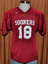 OKLAHOMA SOONERS #18 Vintage Russell Athletic Football Jersey Youth Boys XL NWOT