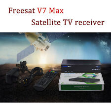 Freesat V7 Max DVB-S2 HD satellite TV receivers Support Youtube USB Wifi dongle