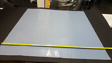 """SILICONE RUBBER SHEET TRANSLUCENT 1/32 THK X 47""""WIDE x 48"""" LONG"""