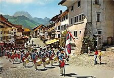 Br22813 Gruyeres soldiers parade switzerland