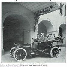 ADEL, 1905, Fürst und Fürstin Otto zu Windisch-Graetz im Automobil /45