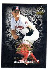 1X JIM THOME 1996 Leaf Fractal Materials PROMO SAMPLE PROTOTYPE NMMT Gold Star