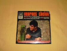 GEORGES CHELON – Est-ce Que Tu Resteras ? 45 RPM 7'' EP Mono (avec languette)