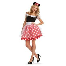 Deluxe Adult Minnie Mouse Women Costume Large ( Size 12-14 )