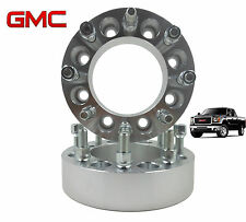 "2 PC 2011 GMC Sierra 2500HD 3500HD 8 Lug 2"" inch Wheel Spacers Adapters Duramax"