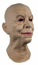 LATEX OLD FEMALE DISGUISE FANCY DRESS RUBBER FULL HEAD MASK GRANNY LADY WOMAN UK