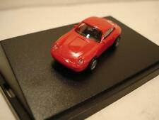 Euromodell (Germany) Red/Silver 1994 Porsche 993 Coupe Plastic 1:87 NIB