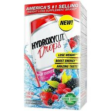 HYDROXYCUT Weight Loss Drops, Fruit Punch 1.62 oz