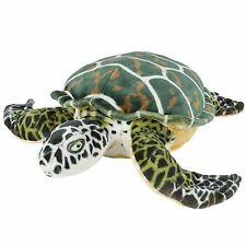 Large Sea Turtle Plush Animal Realistic Tortoise Soft Stuffed Toy Pillow Pe