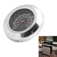 Steel BBQ Barbecue Thermomètre Grill inoxydable Indicateur température 50-500 ℃