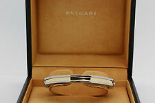 Signed Bvlgari 18k Yellow Gold & Stainless Steel B.Zero 1 Bracelet w/ Boxes 16cm