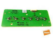 Toshiba 40l1353db 40 POLLICI LED TV POWER BUTTON BOARD 17tk148-1 v2 110413