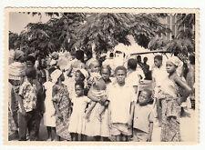 PHOTO MILITAIRE   AFRIQUE JANVIER 1962 LE PERE NOEL NOIR SUR LA BASE
