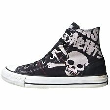Converse All Star Chucks UE 39 UK 6 The Clash Skull Black Limited Edition Giappone