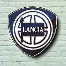 LANCIA BADGE LOGO 2FT GARAGE SIGN WALL PLAQUE CAR CLASSIC STRATOS DELTA RALLY