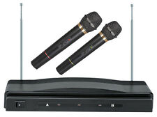 New Supersonic SC-900 Professional Handheld Wireless Dual Microphones Karaoke
