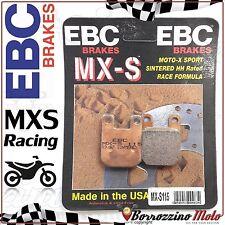 PASTIGLIE FRENO ANTERIORE RACING EBC MX-S 115 HUSQVARNA WRS 50 1998