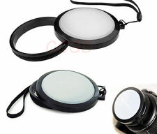 2in1 52mm Front lens cap /White Balance cap cover for Canon Nikon Pentax Camera