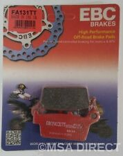 "Honda XR650 (1993 to 2012) EBC ""TT"" REAR Brake Pads (FA131TT) (1 Set)"