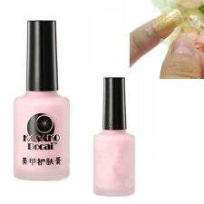 pink 15ml Nail Art Peel Off Palisade Base Coat Liquid Tape Manicure Polish Clean