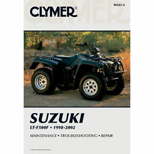 CLYMER SERVICE REPAIR MANUAL SUZUKI 2001 2002 LTF 500 LT-F500F QUAD RUNNER 500