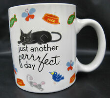 Cat Kitty Kitten 2008 Boston Warehouse Coffee Tea Cocoa Cup Mug Container