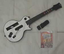 GUITAR Hero 3 Guitar BUNDLE WII PAL
