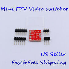 Mini AV Video switcher FPV Multiple Camera Switch Quadcopter electronic switch